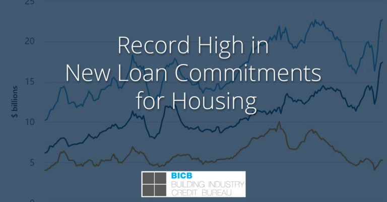 Record High in New Loan Commitments for Housing